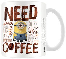 Minions - Need Coffee