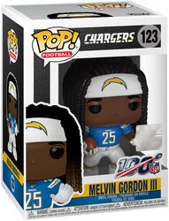 Los Angeles Chargers - Melvin Gordon III Vinyl Figure 123
