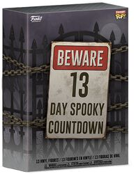 Beware 13 Day Spooky Countdown Halloweenkalender