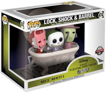 Lock, Shock & Barrel (Movie Moments) Vinyl Figure 474