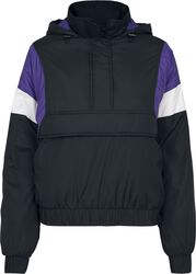 Ladies 3-Tone Padded Pull Over Jacket