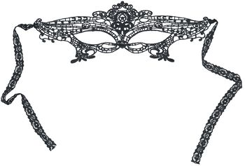 High-quality Lace Mask with Decorative Ornaments