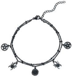 Spider Pentagram Ankle Chain