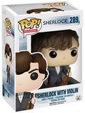 Sherlock With Violin Vinyl Figure 289