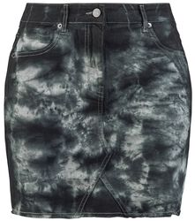 Destroyed Vintage Five Pocket Denim Skirt