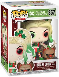 Harley Quinn With Helper (Holiday) Vinyl Figure 357