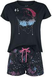 Pyjama Set with Galaxy Print