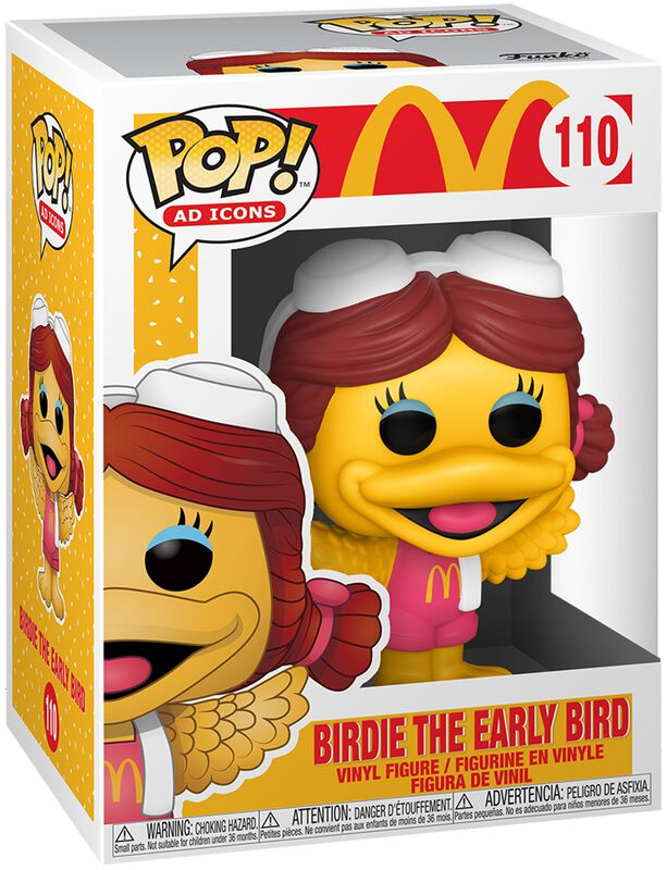 Mc Donalds Birdie The Early Bird Vinyl Figure 110