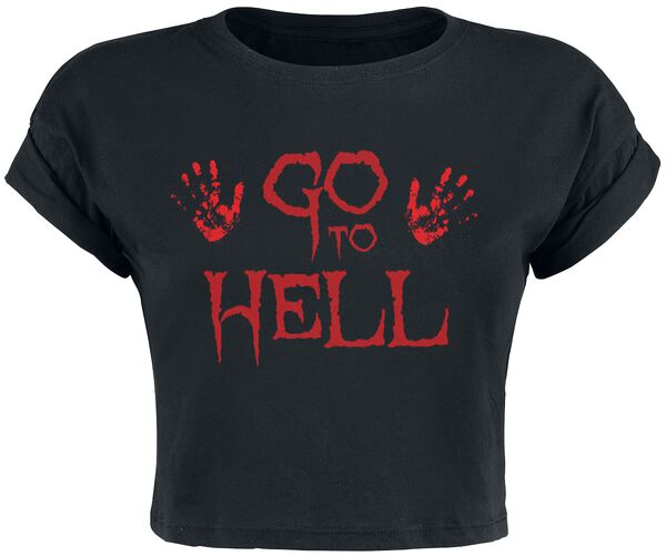 Go To Hell Cropped Top Top 4 recensioni Tutti i prodotti: Go To Hell Cropped Top