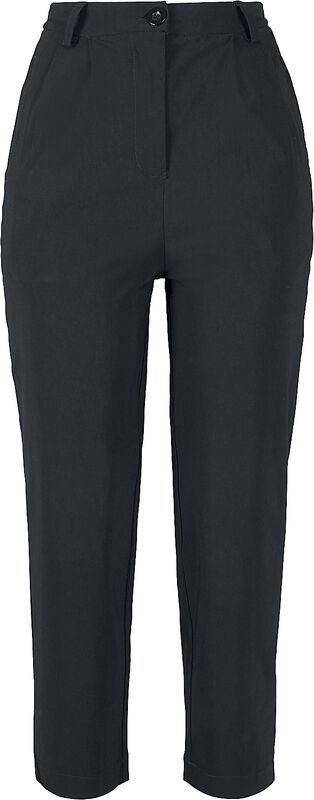 Ladies High Waist Cropped Pants