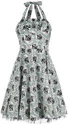 Arcadia Black Rose Pinup Dress