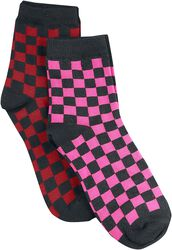 2-Pack of Checkerboard Socks
