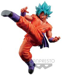Super - Son Goku Fes Statue Super Saiyan God