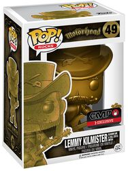 Lemmy Kilmister Rocks (Golden) Vinyl Figure 49
