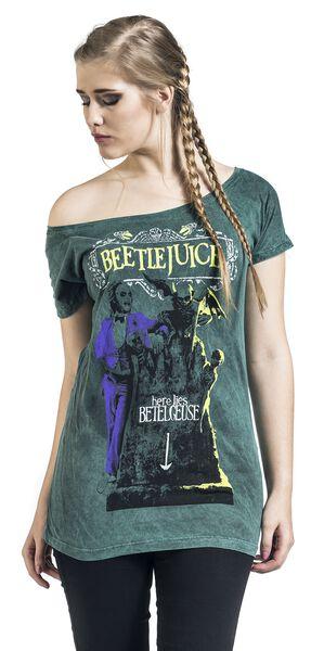 prodotti Tutti Betelgeuse Here Lies T i Shirt Beetlejuice ITTY6x