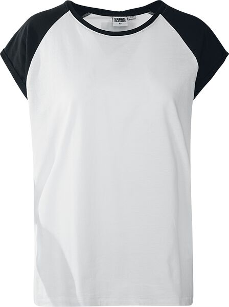 Raglan Shirt Ladies Tee Contrast T 6vqwxF5A