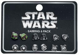 Set di orecchini di Star Wars