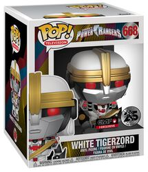 Power Rangers White Tigerzord (Oversized) Vinyl Figure 668