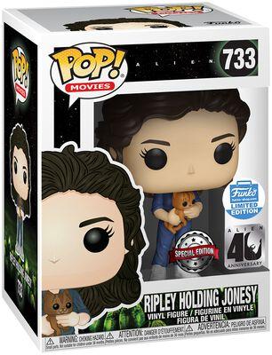 40th - Ripley Holding Jonesy (Funko Shop Europe) Vinyl Figure 733