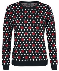Mixed Dotties Knit Pullover
