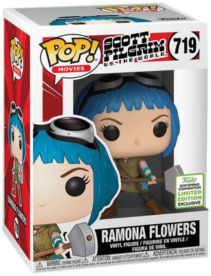 Scott Pilgrim vs. the World ECCC 2019 - Ramona Flowers (Funko Shop Europe) Vinyl Figure 719