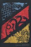 Stark, Targaryen, Lannister Sigils