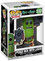 Pickle Rick (With Laser) Vinyl Figure 332