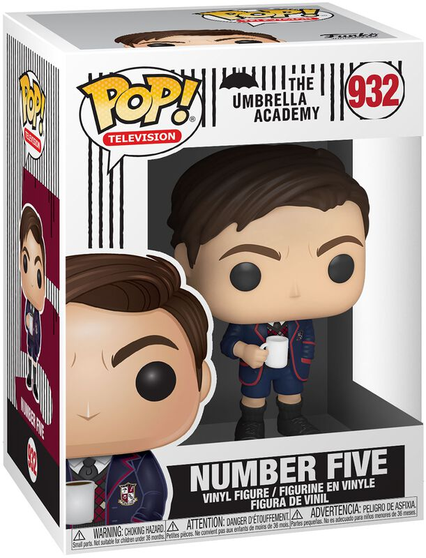 Number Five (Chase Edition Possible) Vinyl Figure 932