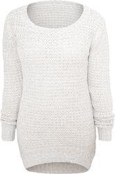 Long Wideneck Sweater