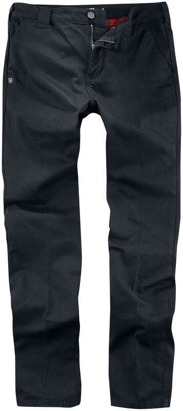 Jared - Black Chino Trousers