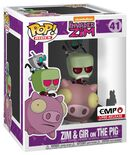 Invader Zim Zim & Gir on The Pig Vinyl Figure 41