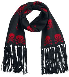 Scarf with Skulls