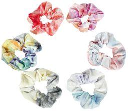 Soft Hair Ties Tie Dye 6-Pack
