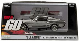 Gone In 60 Seconds Model Car - 1967 Ford Mustang (Eleanor)