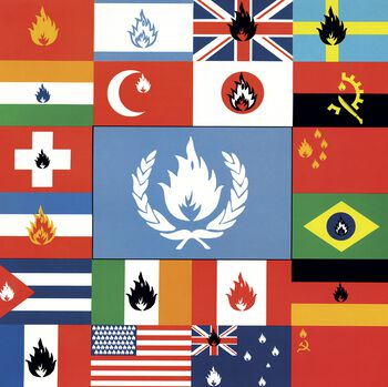 Flags and emblems