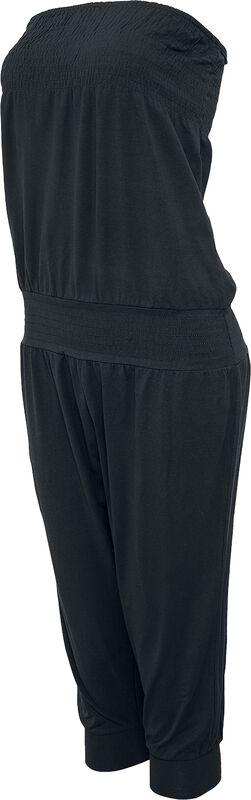 Ladies Shoulderfree Capri Jumpsuit