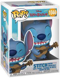 Stitch with Ukulele Vinyl Figure 1044