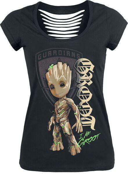 2 - Groot Shield T-Shirt Tutti i prodotti: Guardiani della Galassia