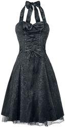 Gothic Banshee Brocade Long Dress