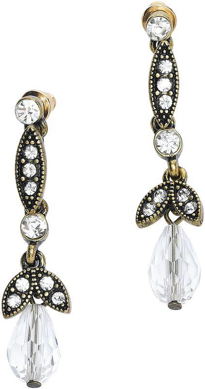 Lula Crystal Drop Earrings