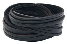 Big Cutted Leather Bracelet
