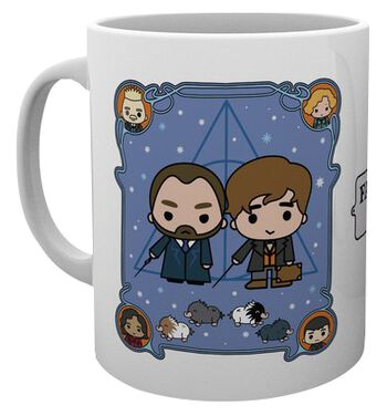 The Crimes of Grindelwald - Chibi Newt and Dumbledore