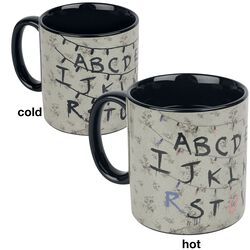 Alphabet - Heat-Change Mug