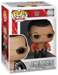 The Rock Old School Vinyl Figure 46 (Chase Edition Possible)