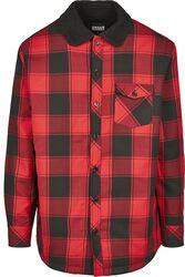 Sherpa Lined Shirt Jacket