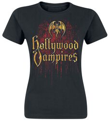 Hollywood Vampires Logo Drips
