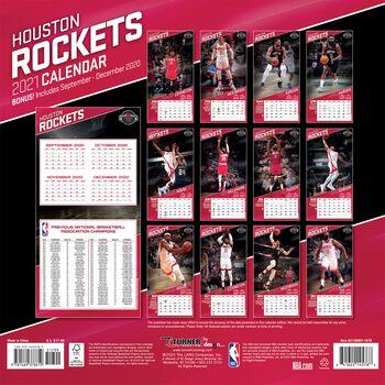 Houston Rockets - Calendar 2021