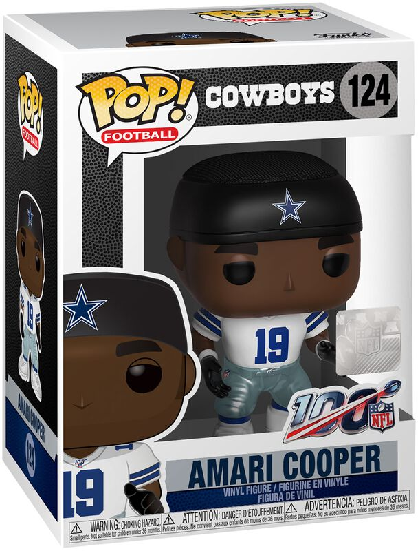 Dallas Cowboys - Amari Cooper Vinyl Figure 124