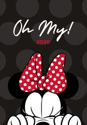 Minnie Mouse 2020 A5 Diary