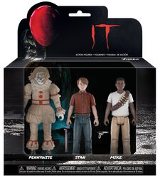 Set 4 - Pennywise, Stanley Uris and Mike Hanlon